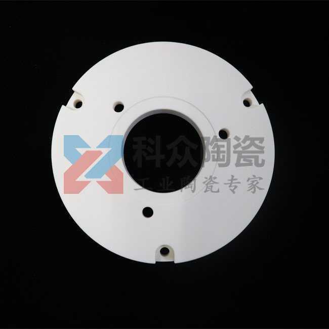 99氧化铝工业陶瓷环圆盘