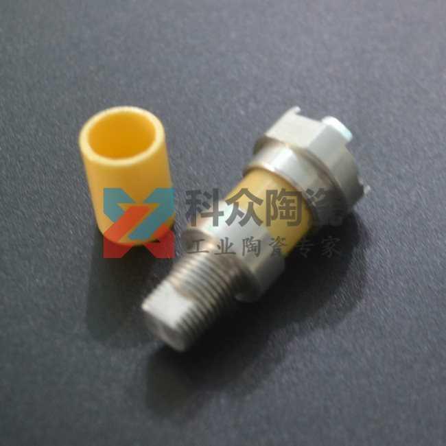 镁稳定氧化锆工业陶瓷阀金属拼接