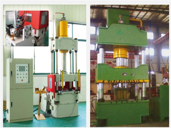 液压机机架结构