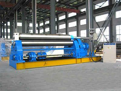W11-20×2000三辊机械对称式卷板机