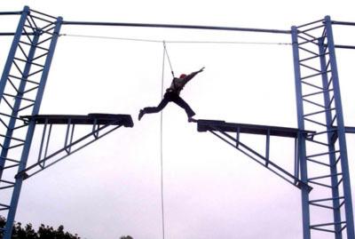 拓展训练项目:高中断桥