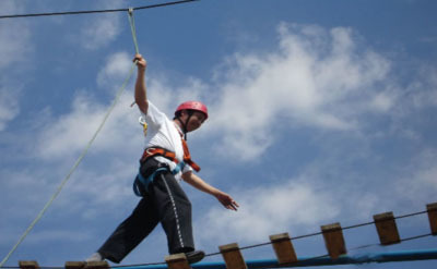 拓展训练项目:缅甸桥