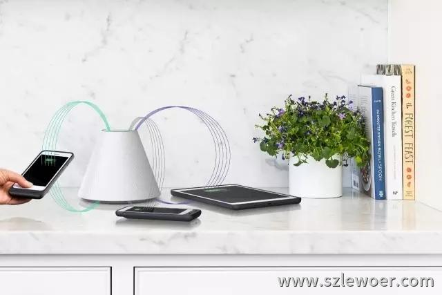 美国Pi创业公司研发的与用WiFi一样方便的非接触式无线充电器产品