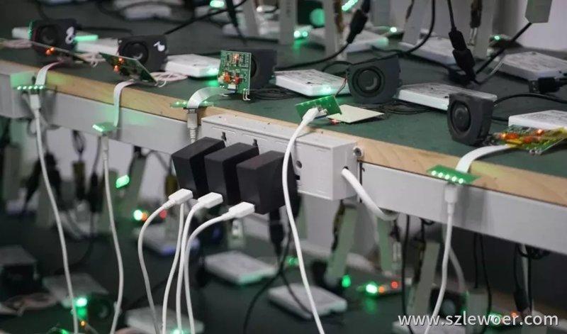 无线充电器生产过程中的老化测试