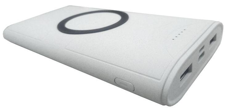 利行者生产的无线充电器移动电源二合一产品