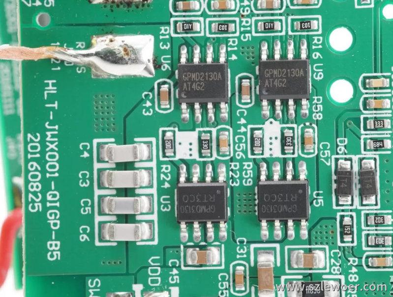 海陆通ARUN无线充电宝拆解分析无线充配套芯片