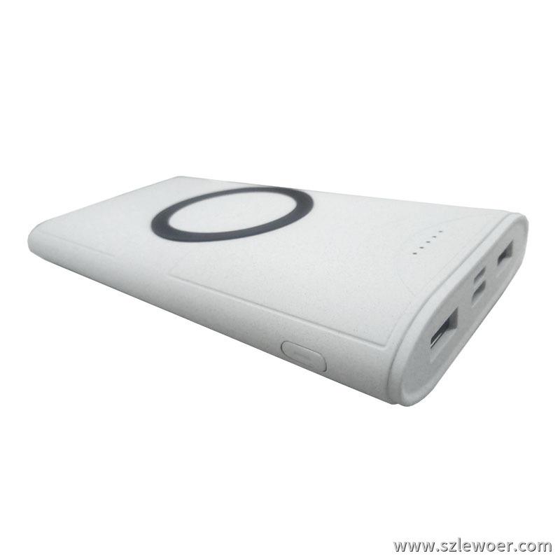 移动电源无线充电器二合一充电器 5w无线输出 2A有线输出