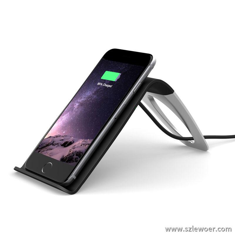 s7无线充电器立式第三代安卓手机简易无线充电器