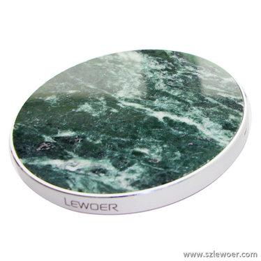 利行者10w qi无线充电器采用天然大理石饰面板