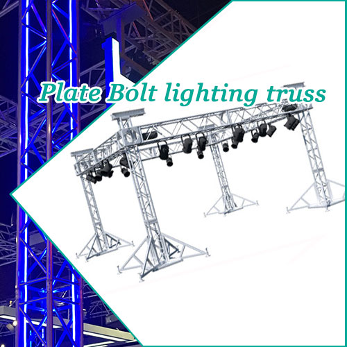 Plate Bolt lighting truss