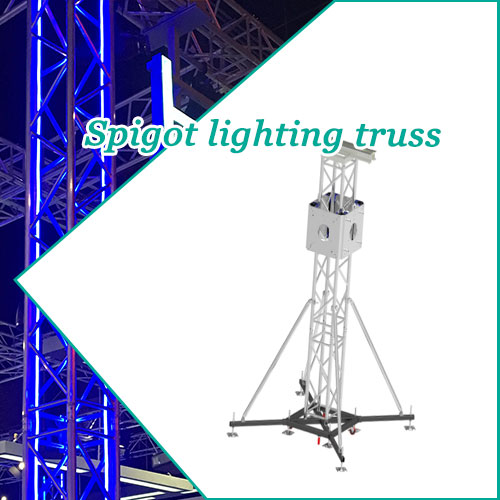 Spigot lighting truss