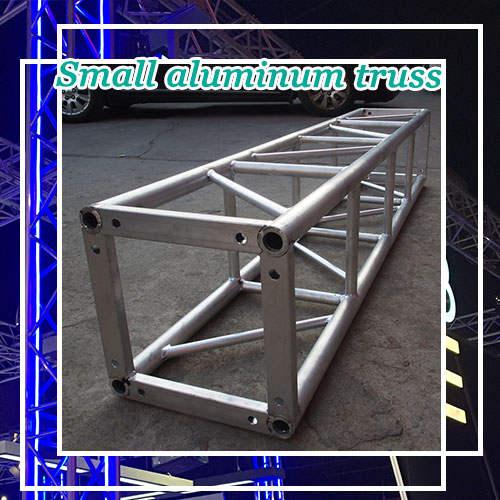 Small aluminum truss