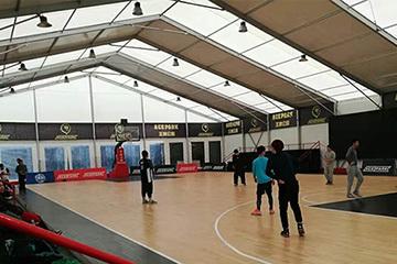 Basketball Court Tent