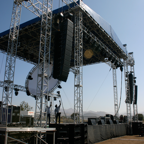 Customized Stage Truss from Sy ...