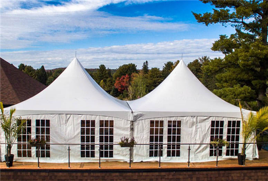 Pagoda Tent with Classical Bea ...