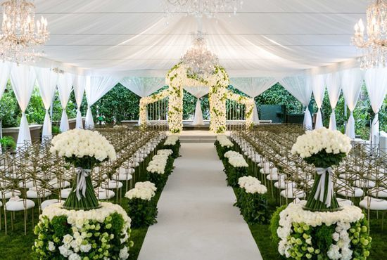 Wedding tents have gradually e ...