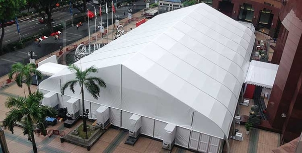 Large mobility conference tent ...