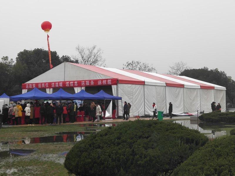 Syxtent Recruitment Fair Tent