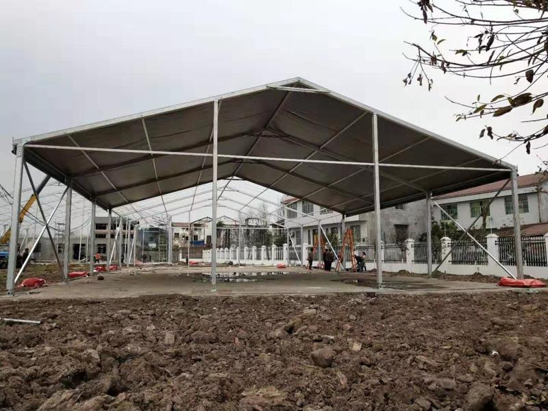 Aluminum Tent Construction