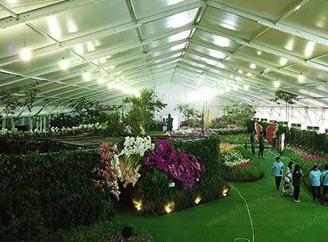 Large indoor flower exhibithio ...