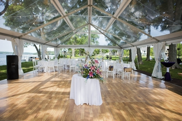 Outdoor Transparent Wedding Te ...