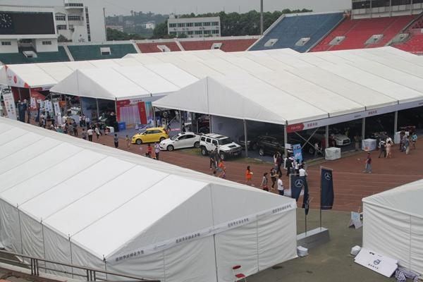Custom Auto Show Display Tents