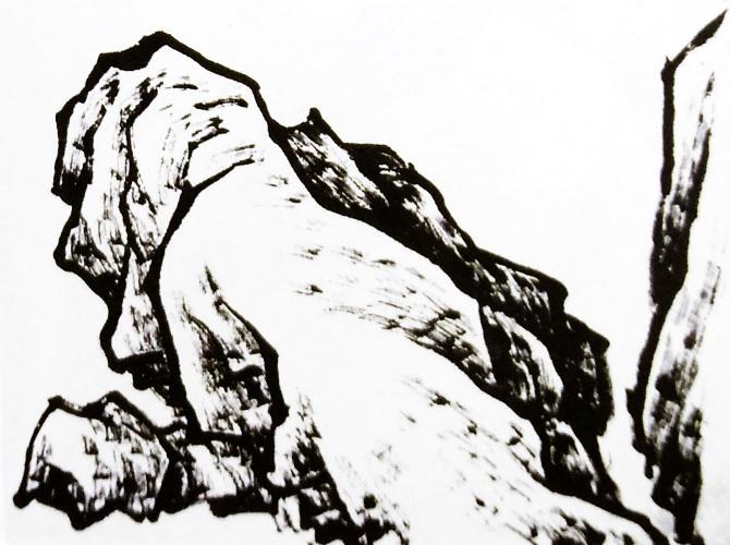 山水画的步骤图解-2