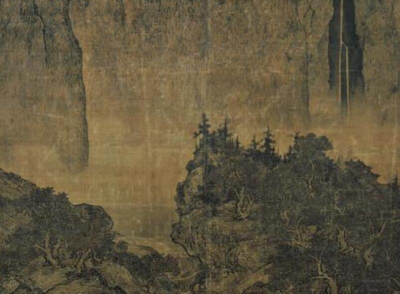 李思训《溪山行旅图》