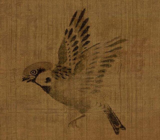林良《鹰鹊图》