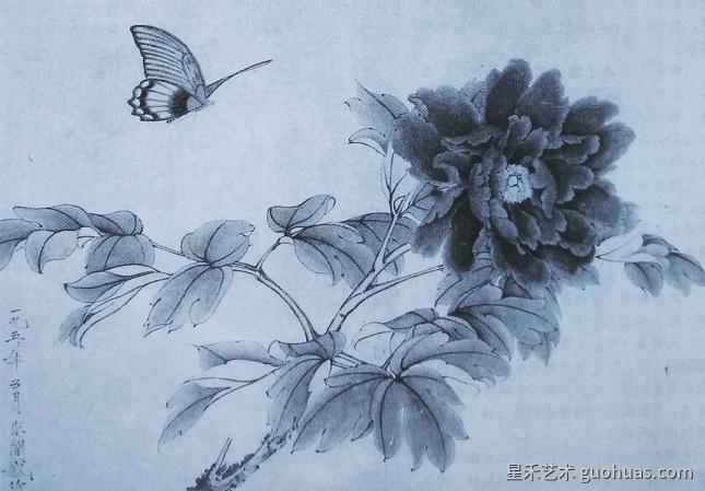于非阁《牡丹峡蝶》