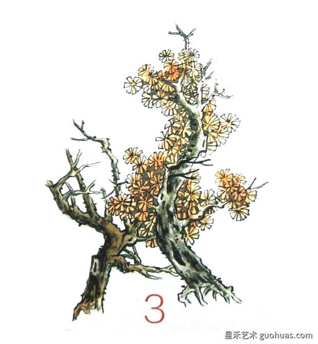 树木着色法-03