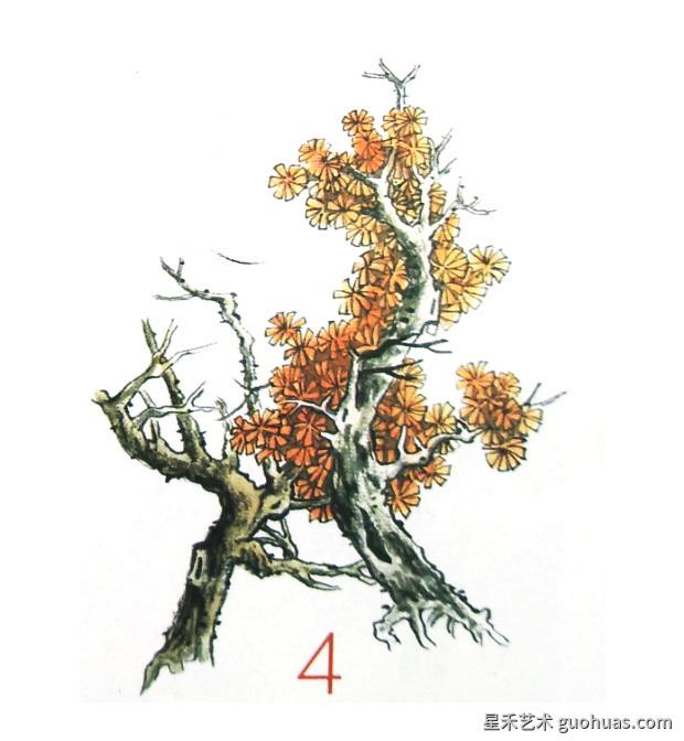 树木着色法-04