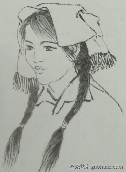 人物画的写生