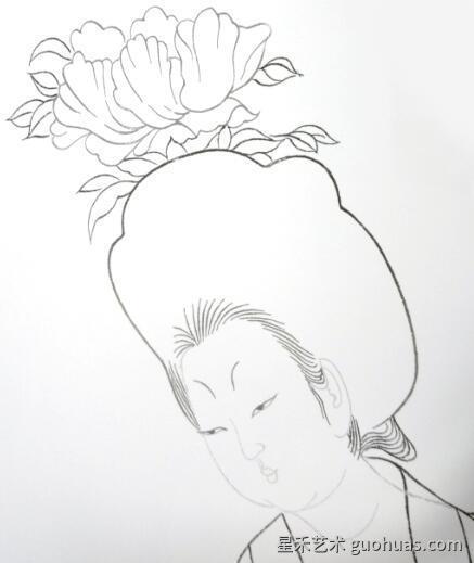 人物画的临摹