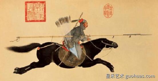 中国画的构图与透视