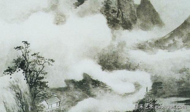 怎样画云雾