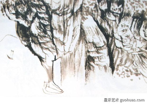 山水画法步骤3