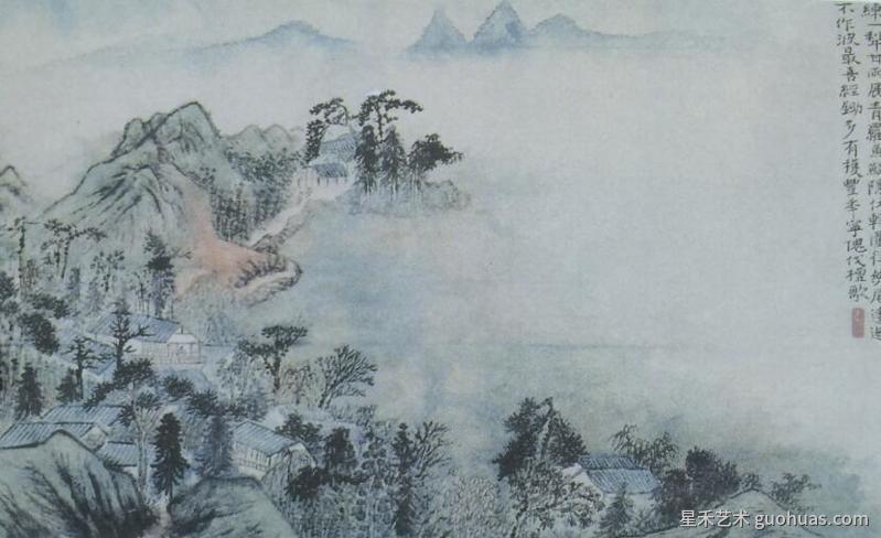 山水画的构图2