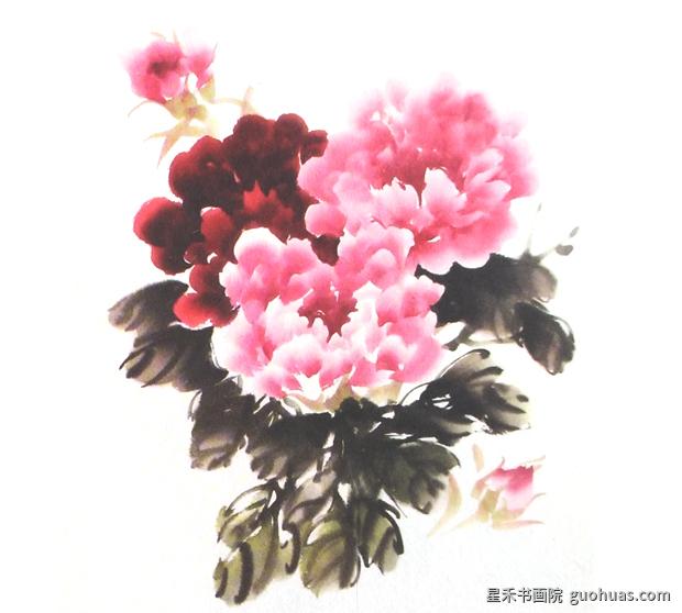 牡丹画写意中国画的基本画法