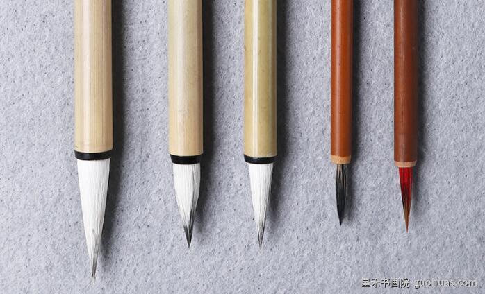 荷花水墨画技法学习前准备的物品有哪些
