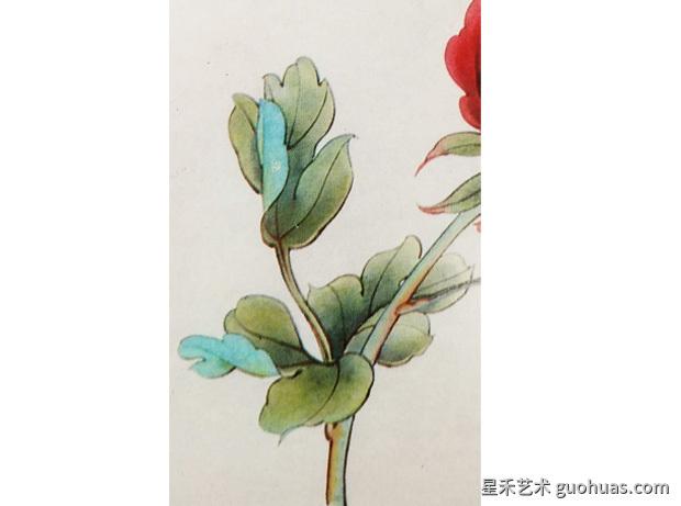 工笔国画牡丹-05