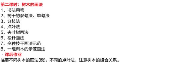 国画培训课程明细-01