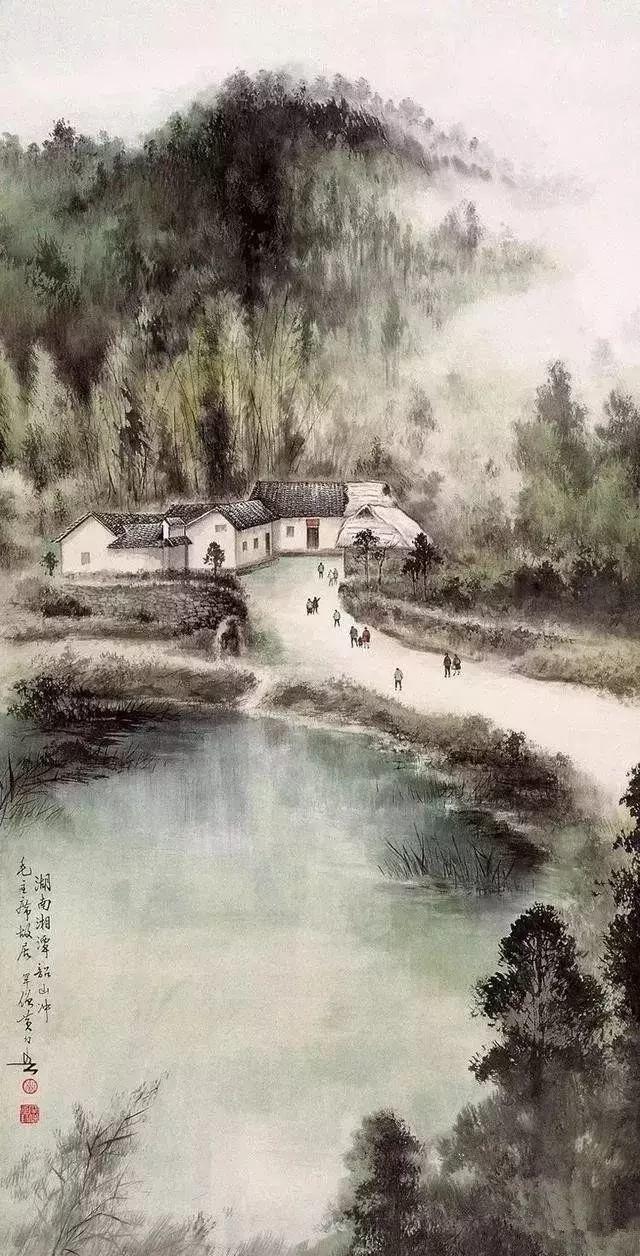 黄幻吾山水、花鸟画合辑6