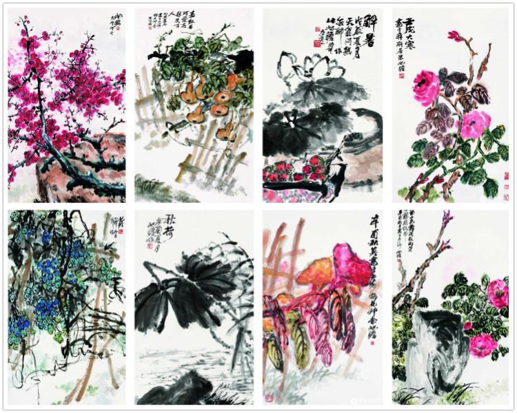 花鸟画画家朱屺瞻1