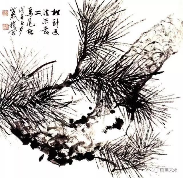 松树的画法-8