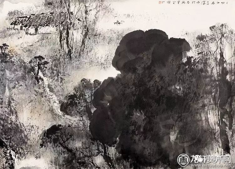 山水画用墨技法图片-1
