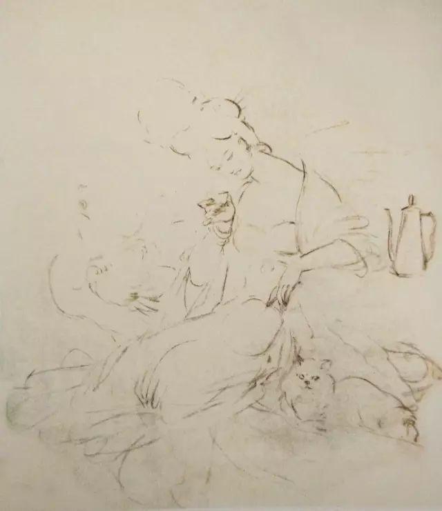 《贵妃醉饮图》画法和步骤-1