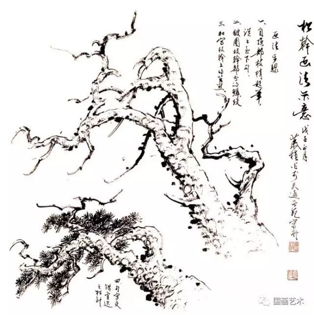 松树的画法-3