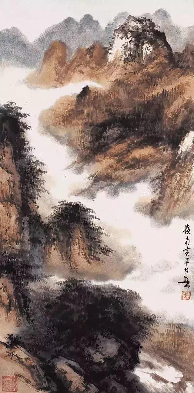 黄幻吾山水、花鸟画合辑9