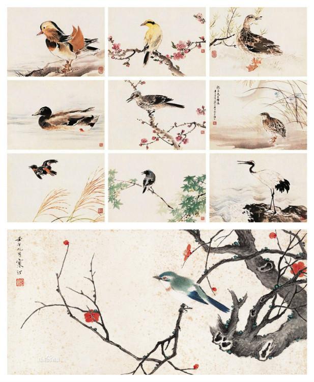 花鸟画画家江寒汀